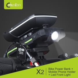 Meilan X2 Power Bank Multiproposito. Led Frontal y soporte Smartphone
