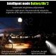 West Biking Luz inteligente Frontal Doble con bocina