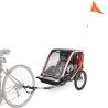 Carrito Bicicleta Allen Sports Deluxe Steel 2 Niños Plegable